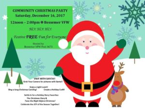Community Christmas Party @ Bessemer VFW | Bessemer | Michigan | United States