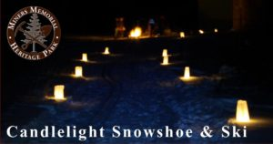 Candlelight Snowshoe & Ski @ Miners Memorial Heritage Park | Ironwood | Michigan | United States