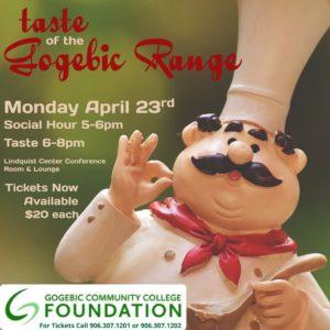 Taste of the Gogebic Range @ Gogebic Community College | Ironwood | Michigan | United States