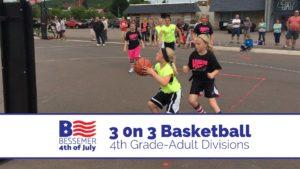 Bessemer 4th 3 on 3 Basketball Tournament @ Downtown Bessemer   Bessemer   Michigan   United States